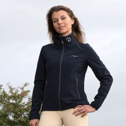 Giacca da equitazione Softshell Donna Dy'on