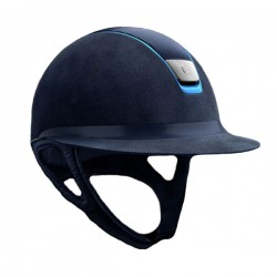 Casco Samshield Miss Shield Premium cuoio airblue